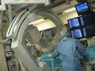 心血管造影装置の写真